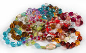 Many beads — Stock Photo
