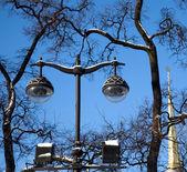 Vintage Street lighting — Stock Photo