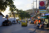Street in Patong. Thailand. Editorial only. — Stock Photo