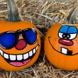 Halloween Fun Pumpkins — Stock Photo