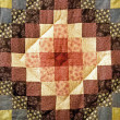 Stock Photo: Quilt Square
