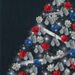 Royalty-Free Stock Photo: Military Christmas Tree