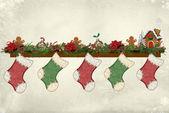 Christmas Stockings — Stock Photo