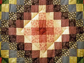Quilt Square — Stock Photo
