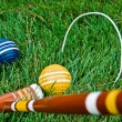 Game of Croquet — Stock Photo