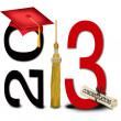 Graduation 2013 — Stock Photo
