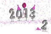 New year's eve humor — Stock Photo