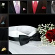 Stock Photo: Wedding Tuxedo Collage