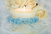 Wedding Garter — Stock Photo