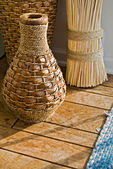 Wicker Vases — Foto de Stock