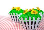 Cupcakes de verano — Foto de Stock
