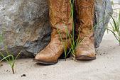 Stivali stile occidentale — Foto Stock