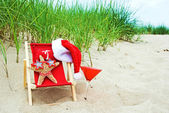 Christmas Starfish — Stock Photo