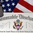Stock Photo: Honorable Discharge