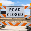 Road closed sign — Stock Photo #11223499