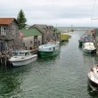 Quaint Michigan Harbor — Stock Photo