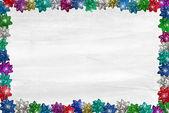 Christmas Bow Border — Stock Photo