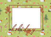 Holiday Frame — Stock Photo