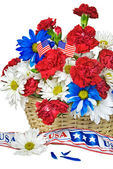 Patriotic Bouquet — Stock Photo
