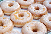 Glazed Donuts — Stock Photo