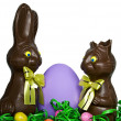 Royalty-Free Stock Photo: Chocolate Easter Bunnies