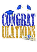 Congratulations for class of 2013 — Stock Photo