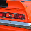 Rear taillights on retro car — Stock Photo
