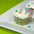 Holiday Cupcakes - Stockfoto