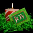 Christmas Candle - Stockfoto