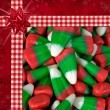Christmas Candy Corn - Stockfoto