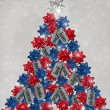 Stock Photo: Military Christmas Tree
