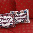 Holiday pillows - Stockfoto