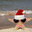Starfish in striped bikini — Stock Photo #11345546