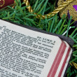 Christmas Bible — Foto de Stock