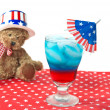 Patriotic Drink — Stock Photo
