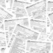 Stock Photo: Income tax forms