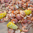 Shrimp Boil - Foto Stock