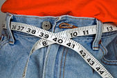 Tape measure belt — Stock Photo
