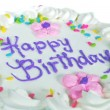 Happy Birthday cake - Foto de Stock