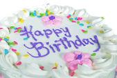 Happy Birthday cake — Стоковое фото