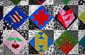 Colorful quilt design — Foto Stock