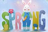 Conejo de primavera — Foto de Stock