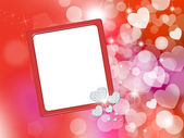 Valentine Frame — Stock Photo