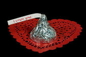Valentine Chocolate — Stock Photo