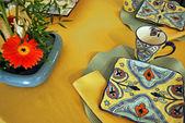 Ustawienie na stole — Zdjęcie stockowe