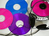 Discos de colores — Foto de Stock