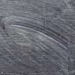 Smeared chalk on blackboard — Stock Photo