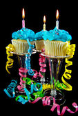 Celebration cupcakes — Stock Photo