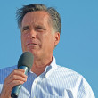 Mitt Romney campaigning in Michigan — Stock Photo #11825230