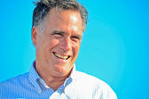 Smiling Mitt Romney — Stock Photo